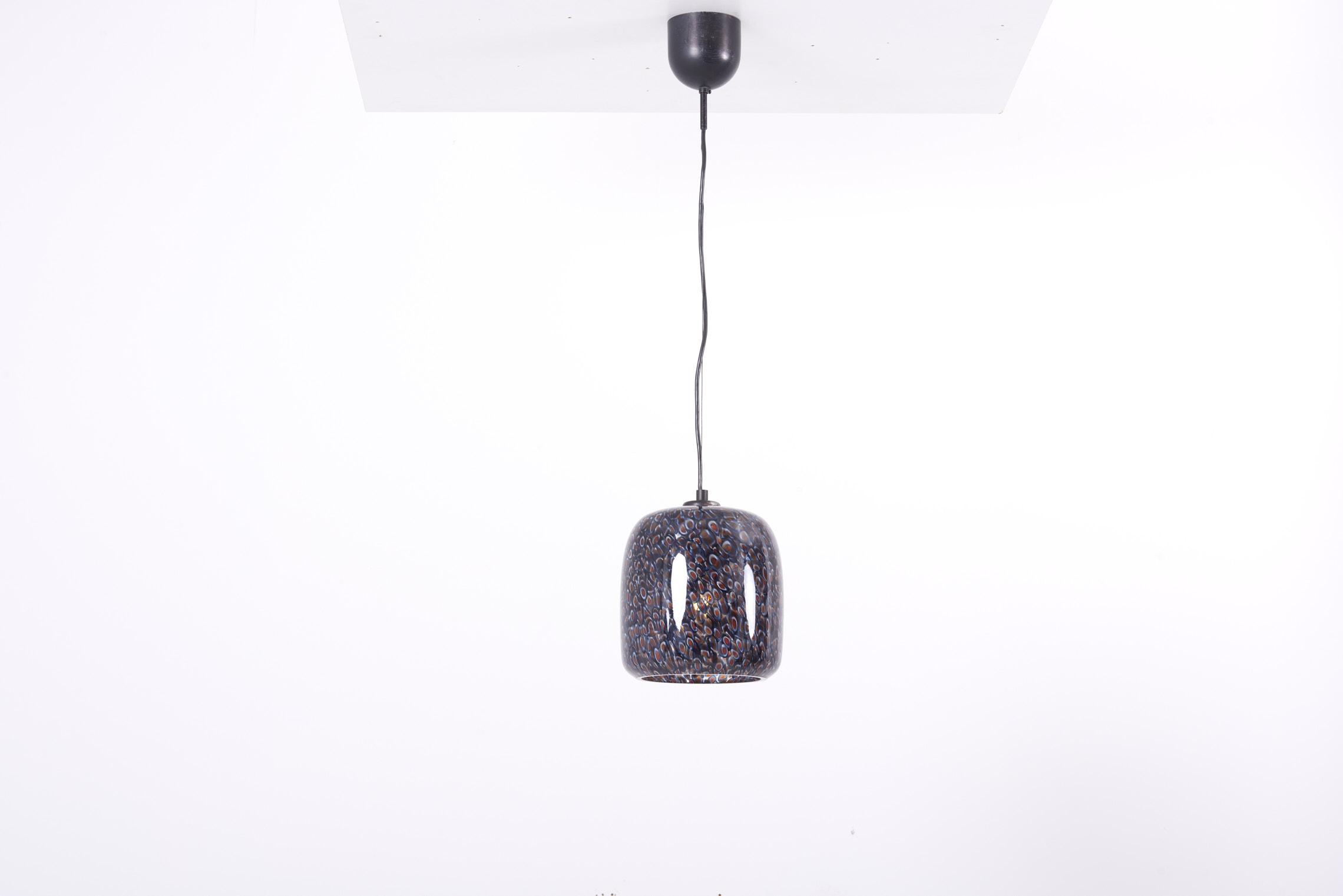 Neverrino Glass Pendant Lamp By Gae Aulenti For Vistosi